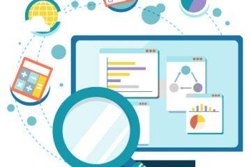 digital analytics illustration